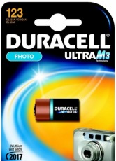 Bateria fotograficzna Duracell DL 123A Ultra
