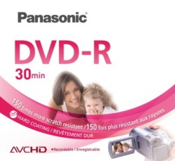 Płyta Panasonic mini DVD-R 1,4GB