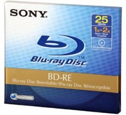 Płyta Sony Blu-Ray BD-RE 25 GB