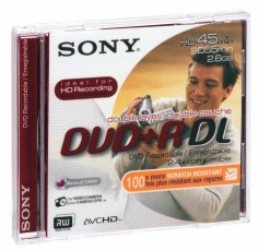 Płyta mini Sony DVD+R 2,6GB DL w opakowaniu miniBOX